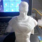 raw superman action figure